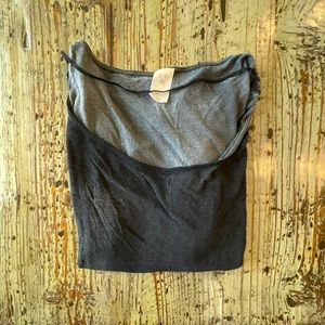 🌟2 for $10!!! Free People Tee in Black and Gray